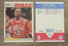 1987 Michael Jordan #59 Reprint Novelty Card Bulls