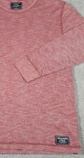 Vintage Abercrombie & Fitch Heather Red LS Shirt Rare Men's Small