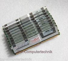 16 GB 4x 4GB 667 Mhz PC2-5300F RAM Speicher HP 398708-061 G5 FB DIMM DDR2 SERVER