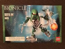 Lego INSTRUCTION BUILDING MANUAL 8929 Bionicle DEFILAK Booklet Only