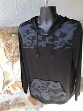 Tony Hawk Light Weight Pullover Hoody Jacket - Lg Black