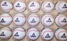 (15) Arizona Diamondbacks Diamond Backs Mlb Baseball W/Stitch Logo Golf Balls