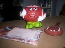 FOOTBALL-coin bank with score pad and clapper