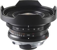 VOIGTLANDER HELIAR 12mm Ultra Wide obiettivo per Leica M UE Merce NUOVO 12