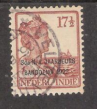 Nederlands Indië   Nummer  158   Gebruikt.