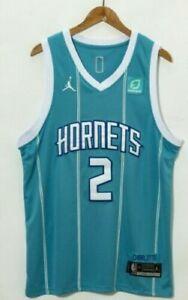 LITBIT Basketball Jersey Hommes Charlotte Hornets 33# Deuil Respirant S/échage Rapide Manches Sport D/ébardeur,Bleu,S 170cm//50~65kg
