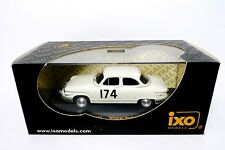 PANHARD PL 17 WINNER MONTE CARLO 1961 - M.Martin - R. Bateau  - IXO  -  1:43