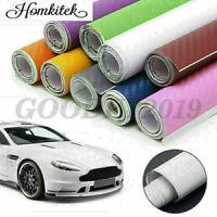 Roll Film Sticker Decal 3D 4D 5D 6D Carbon Fiber Vinyl Car Auto Wrap Sheet NEW