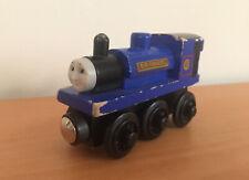 Thomas the Train & Friends Wooden Railway SIR HANDEL TRAIN Vintage Blue