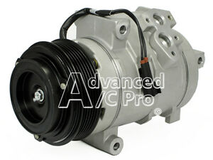 New A/C AC Compressor Fits: 2007 - 2015 Ford Edge - Lincoln MKX V6 3.5L 3.7 DOHC