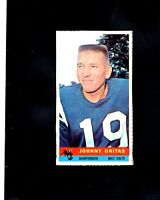 1959 Bazooka Johnny Unitas  ( Very Rare and Tough )