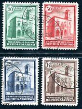 SAN MARINO 1932 175-178 gestempelt guter SATZ 195€(J9005