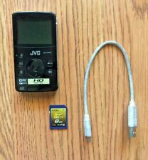 JVC GC-FM1 HD Memory Camera (1080P REC) (Black)