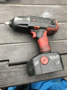 "Snap On impact gun 18v 1/2"" Drive. 2 Batteries And Charger"