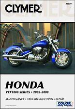 2002-2008 Honda VTX 1800 CLYMER REPAIR MANUAL