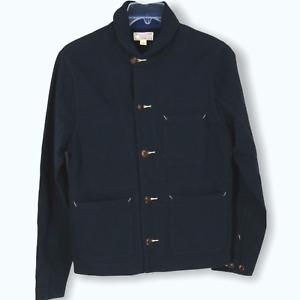 J Crew Mens Wallace & Barnes Knit chore Coat jacket sz XL