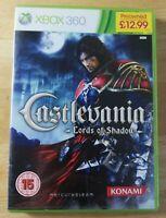 Castlevania Lords Of Shadow Xbox 360 PAL. No manual
