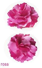Kamelie Blume Haarspange Brosche Dekor Klemme  Ansteckblume Lafairy