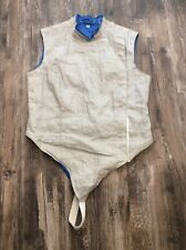 VINTAGE Santelli Electric Foil Fencing Jacket Vest Size 38 EUC Made in the USA