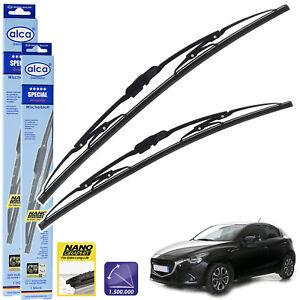 "Fits Mazda 2 2015-On Standard Windscreen Wiper Blades 22""17"" Alca Special"