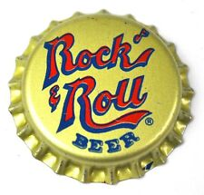 Rock 'N ROLL BEER BIRRA TAPPI A CORONA USA soda bottle cap PLASTICA GUARNIZIONE