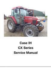 More details for case ih cx50 cx60 cx70 cx80 cx90 cx100 dealers workshop manual