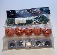 Nintendo Gamecube Promotional Light 10 strand NBA Courtside 2002 Stringlights