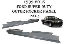 1999-2015 Ford Super Duty Crew Cab Full Length Rocker Panels  F250 F350 New Pair