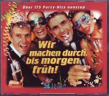 Wir machen durch bis morgen früh !  175 Party-Hits -  Reader's Digest 3 CD BOX