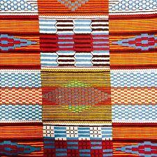 African Kente Print Fabric BY 1/2 YARD Ankara style kitenge fancy wax p1163