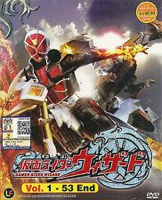 Kamen Masked Rider Wizard Complete Series 53 Episodes DVD Box Set Eng Subs