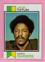 1973 Topps  # 288 Jack Tatum --Raiders -- Box 726-434