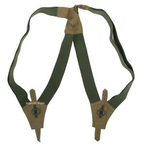 Original Russian Military SPOSN SUSPENDERS for GORKA / PARTIZAN Olive