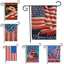 Old Glory American Garden Flag Patriotic Usa Outdoor Yard Park Banner Decoration