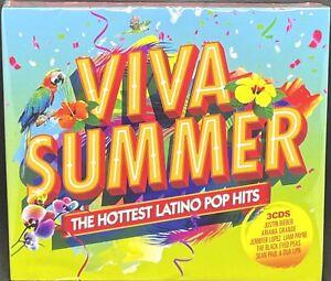 VIVA SUMMER - THE HOTTEST LATINO POP HITS, TRIPLE CD ALBUM, (2018)*NEW / SEALED*