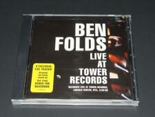 BEN FOLDS ‎– LIVE AT TOWER RECORDS #49K 74676 Epic 3 Tracks FACTORY SEALED CD