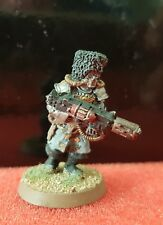 Warhammer40k Imperial Guard Vostroyon 1st Born with melta-gun metal painted