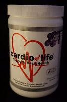 Cardio For Life Heart Health Nutritional Supplement Grape Flavor 32 servings