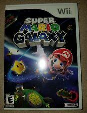 Super Mario Galaxy (Nintendo Wii, 2007) - BRAND NEW White Label Edition