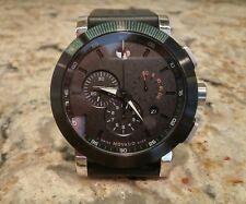 Men's Movado Museum Sport Chronograph Blue Dial Watch 0607002 MSRP $995