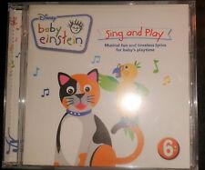 Disney Baby Einstein Sing and Play Kindermusik Audio CD neu ovp