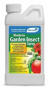 Monterey LG6150 Garden Insect Spray Insecticide & Pesticide With Spinosad