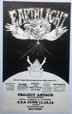 Earthlight Project Artaud Poster Play 1971
