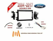 AI 2004-2015 FORD LINCOLN MERCURY 2 DIN CAR STEREO INSTALL DASH KIT,WIRE HARNESS