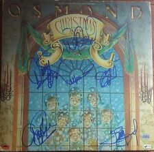 The Osmonds Hand Signed Jimmy Jay Donny Marie Alan Merrill Album TD Authentic