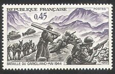 France 1969 WWII/Chevaux/tanks/ARMY/Battle 1 V (n23459)