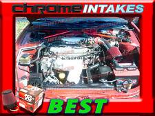 K&n + Rojo 90 91 92 93-97 Toyota Corolla / Geo Prizm 1.6 1.6L/1.8 1.8L Toma de