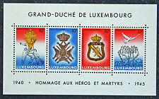 Timbres / Stamp LUXEMBOURG Yvert et Tellier Bloc n°14 (1077 à 1080) n** (cyn12)