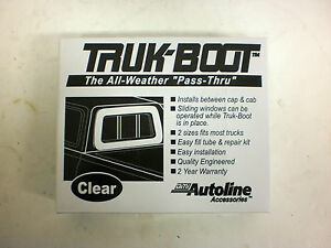 Auto Line Truk inflatable Boot Camper Shell Topper Cap Seal Full Size Truck 3000