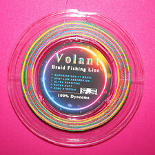 25LB Multi COLOR SUPERIOR QUALITY BRAID FISHING LINE 100% DYNEEMA 300M